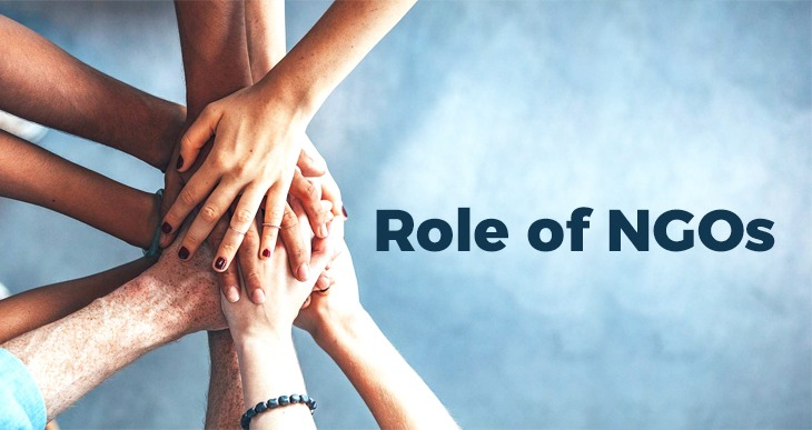 Role of NGOs in the well-being of a Society